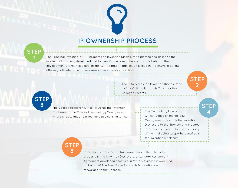IP ownership process diagram